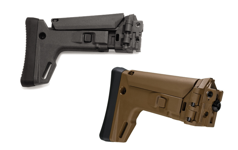 Magpul By Bushmaster Acr Enhanced Folding Stock Coyote Brown Lucky